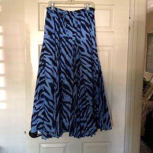 """""""Make An Offer """" Blue print maxi skirt ❤️"""